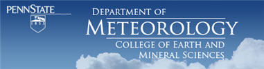 PSU Dept of Meteorology